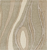 Surya Modern Classics CAN-1927 Light Gray Hand Tufted Area Rug by Candice Olson 16'' Sample Swatch