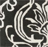 Surya Modern Classics CAN-1951 Black Area Rug by Candice Olson Sample Swatch