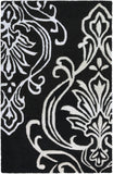 Surya Modern Classics CAN-1951 Black Area Rug by Candice Olson 2' X 3'