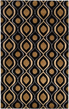 Surya Modern Classics CAN-1956 Black Area Rug by Candice Olson 5' x 8'