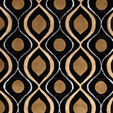 Surya Modern Classics CAN-1956 Black Hand Tufted Area Rug by Candice Olson Sample Swatch