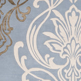 Surya Modern Classics CAN-1980 Sky Blue Hand Tufted Area Rug by Candice Olson Sample Swatch