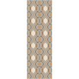 Surya Modern Classics CAN-1984 Grey Area Rug by Candice Olson 2'6'' x 8' Runner
