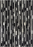 Surya Modern Classics CAN-1998 Black Hand Tufted Area Rug by Candice Olson 8' X 11'