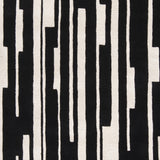 Surya Modern Classics CAN-1998 Black Hand Tufted Area Rug by Candice Olson Sample Swatch