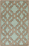 Surya Modern Classics CAN-2034 Teal Area Rug by Candice Olson 5' x 8'