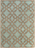 Surya Modern Classics CAN-2034 Teal Area Rug by Candice Olson 8' X 11'