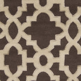 Surya Modern Classics CAN-2035 Chocolate Hand Tufted Area Rug by Candice Olson Sample Swatch