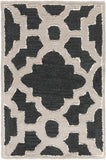 Surya Modern Classics CAN-2036 Black Area Rug by Candice Olson 2' X 3'