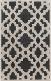 Surya Modern Classics CAN-2036 Black Hand Tufted Area Rug by Candice Olson
