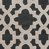 Surya Modern Classics CAN-2036 Black Hand Tufted Area Rug by Candice Olson Sample Swatch