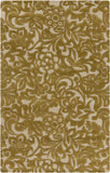 Surya Modern Classics CAN-2045 Gold Area Rug by Candice Olson 5' x 8'