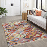 Momeni Caravan CAR-1 Multi Area Rug Room Scene