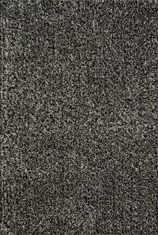 Loloi Carrera Shag CG-02 Salt And Pepper Area Rug main image