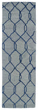 Kaleen Casablanca CAS02 Blue Area Rug Runner Shot