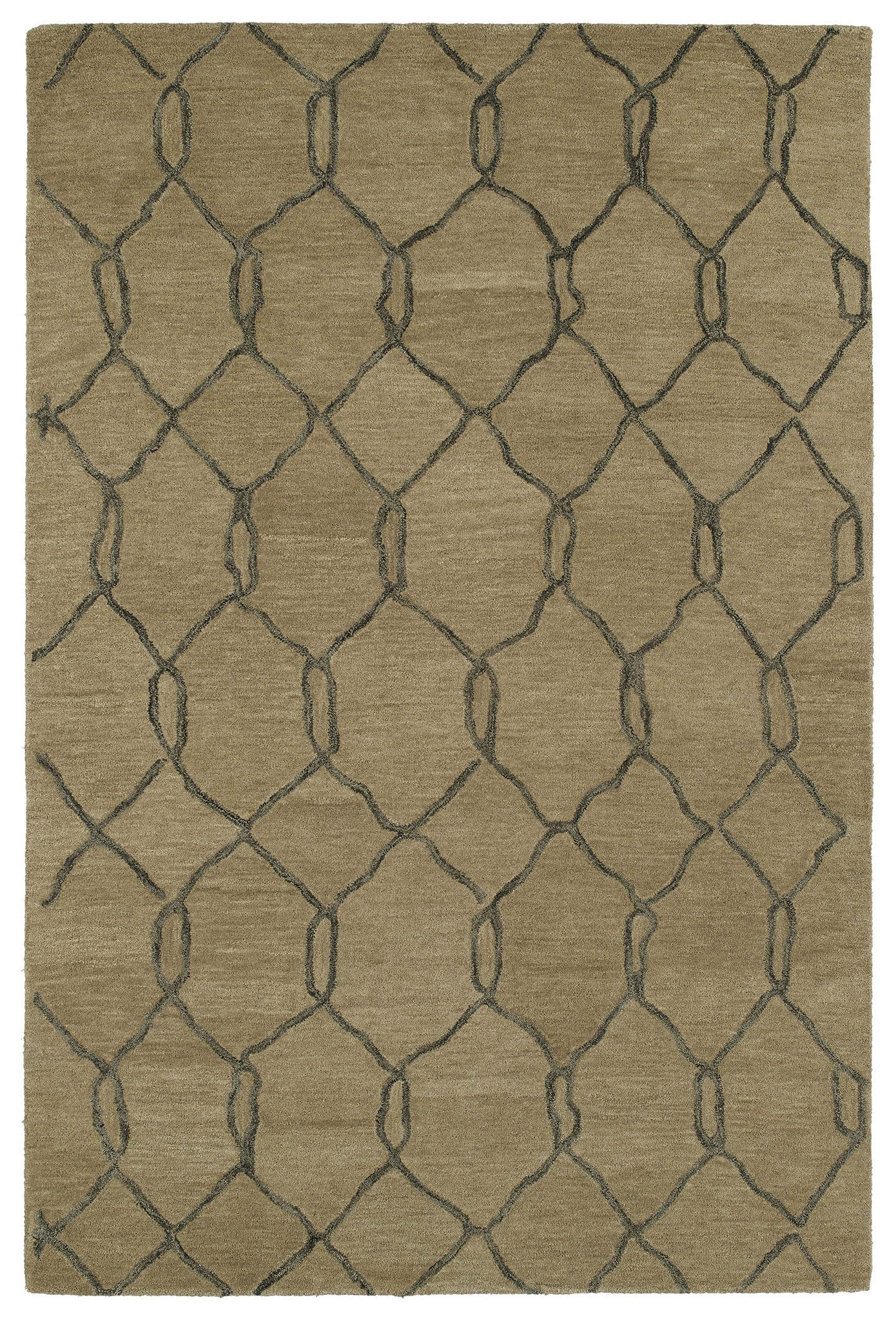 Kaleen Casablanca CAS02 Light Brown Area Rug