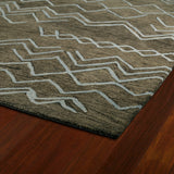 Kaleen Casablanca CAS05 Ash Area Rug Close-up Shot