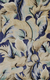 KAS Catalina 0756 Blue Calla Lillies Hand Tufted Area Rug