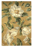 KAS Catalina 0762 Gold Magnolia Hand Tufted Area Rug