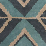 Surya Calaveras CAV-4001 Moss Hand Tufted Area Rug by Beth Lacefield Sample Swatch
