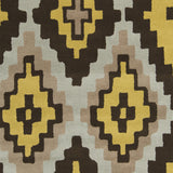 Surya Calaveras CAV-4003 Gold Hand Tufted Area Rug by Beth Lacefield Sample Swatch