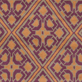 Surya Calaveras CAV-4022 Eggplant Hand Tufted Area Rug by Beth Lacefield Sample Swatch