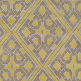 Surya Calaveras CAV-4023 Gold Hand Tufted Area Rug by Beth Lacefield Sample Swatch