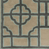 Surya Calaveras CAV-4027 Olive Hand Tufted Area Rug by Beth Lacefield Sample Swatch