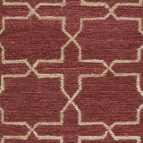 Surya Caynon CAY-7001 Burgundy Hand Knotted Area Rug by Country Living Sample Swatch