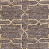 Surya Caynon CAY-7002 Taupe Hand Knotted Area Rug by Country Living Sample Swatch