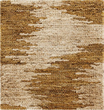 Surya Columbia CBA-101 Gold Hand Woven Area Rug 16'' Sample Swatch