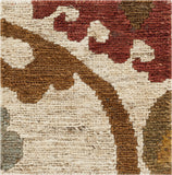 Surya Columbia CBA-106 Olive Hand Woven Area Rug 16'' Sample Swatch
