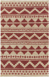Surya Columbia CBA-127 Dark Red Area Rug