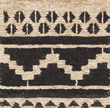 Surya Columbia CBA-130 Black Area Rug Sample Swatch