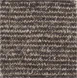 Surya Cable CBL-7000 Black Hand Woven Area Rug by Papilio 16'' Sample Swatch