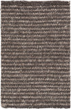 Surya Cable CBL-7000 Black Area Rug by Papilio 2' x 3'