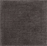 Surya Cambria CBR-8711 Charcoal Hand Woven Area Rug 16'' Sample Swatch
