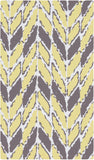 Surya Cape Cod CCD-1005 Lemon Area Rug 2' x 3'