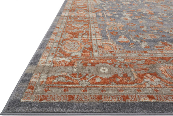Loloi Century Cq 08 Grey Terracotta Area Rug Incredible