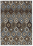 Rizzy Carrington CG4801 Black Area Rug