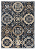 Rizzy Carrington CG4803 Black Area Rug