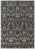 Rizzy Carrington CG4828 Black Area Rug