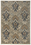 Rizzy Carrington CG4832 Ivory/Khaki Area Rug