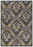 Rizzy Carrington CG4834 Blue/Tan Area Rug