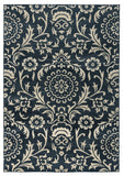Rizzy Carrington CG4840 Black Area Rug