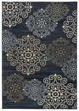 Rizzy Carrington CG4846 Blue Area Rug
