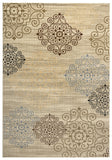 Rizzy Carrington CG4847 Ivory/Khaki Area Rug