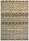 Rizzy Carrington CG4848 Ivory/Khaki Area Rug
