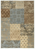 Rizzy Carrington CG4852 Ivory/Camel Area Rug