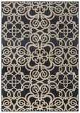 Rizzy Carrington CG4853 Black Area Rug